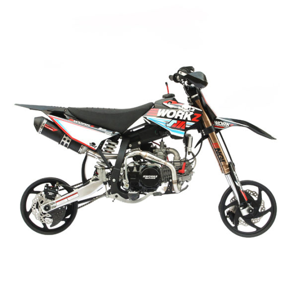 workz industries supermoto pit bike 140cc. Black Bedroom Furniture Sets. Home Design Ideas
